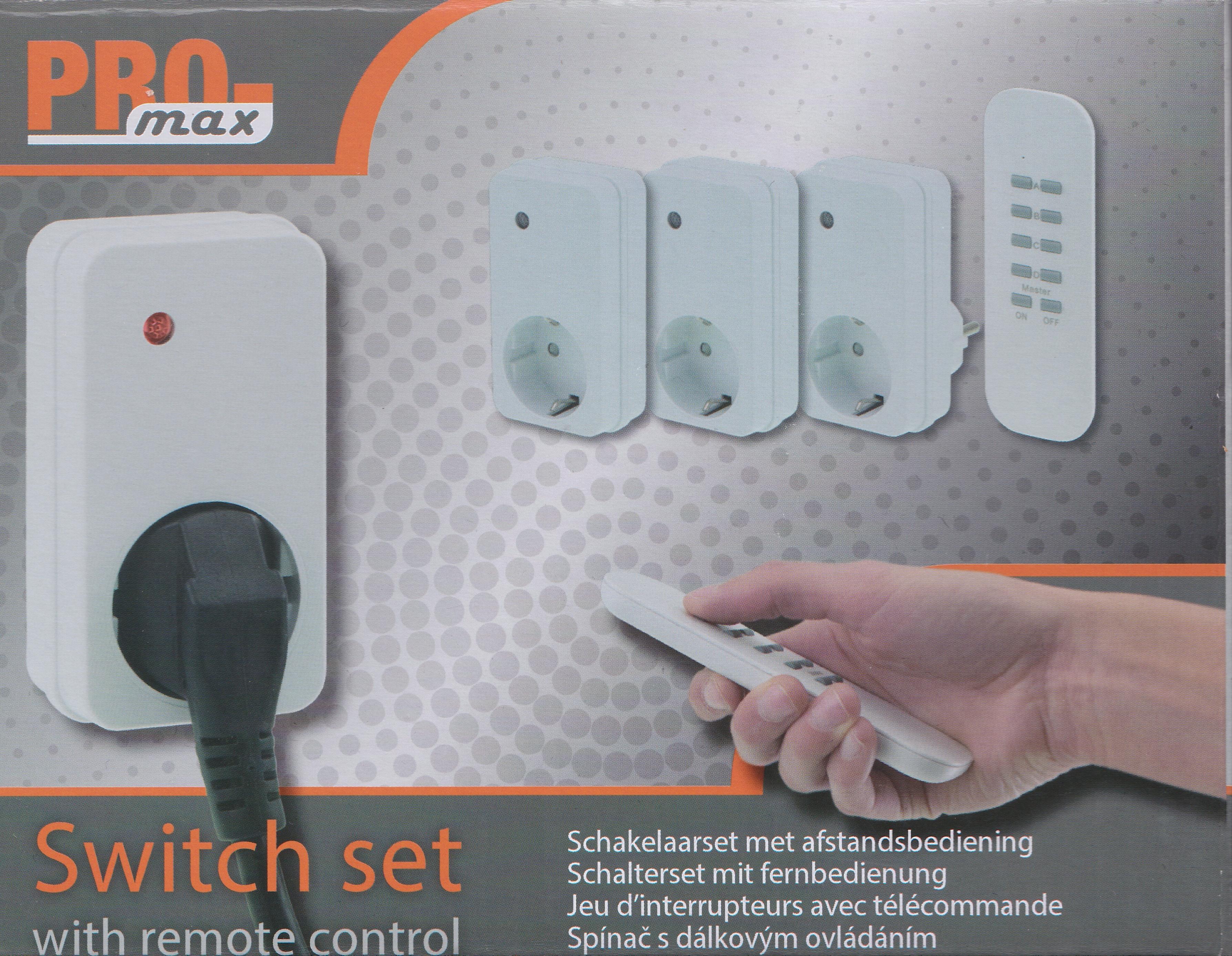 Afstandsbediening Lampen Action : Smart switch schakelset action gebruiken in domoticz promax of