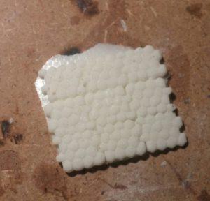Resin afgietsel uit de siliconen rubber mal