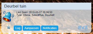 SelectPlus Deurbel van de Action toegevoegd aan Domoticz